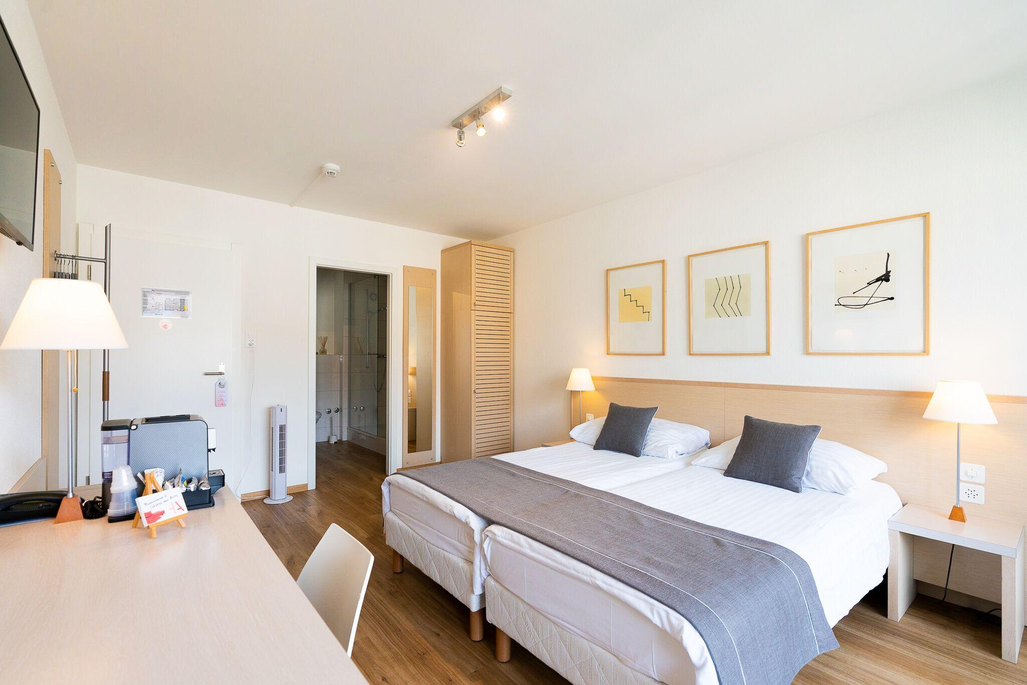 Doppelzimmer - 22m2 - für 1 bis 4 Personen | Hôtel des Arts